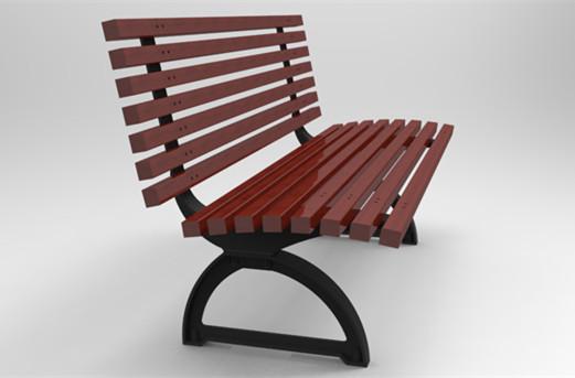 Brilliant Heavy Duty Woodenand Cast Iron Outdoor Backed Garden Bench Machost Co Dining Chair Design Ideas Machostcouk